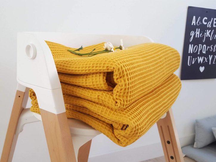Housse de rechange nid d'abeille - Modèle Malo - Matelas de sol Merci Suzy