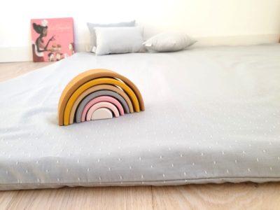 Tapis Montessori Pour Bebe En Coton Bio Matelas De Sol