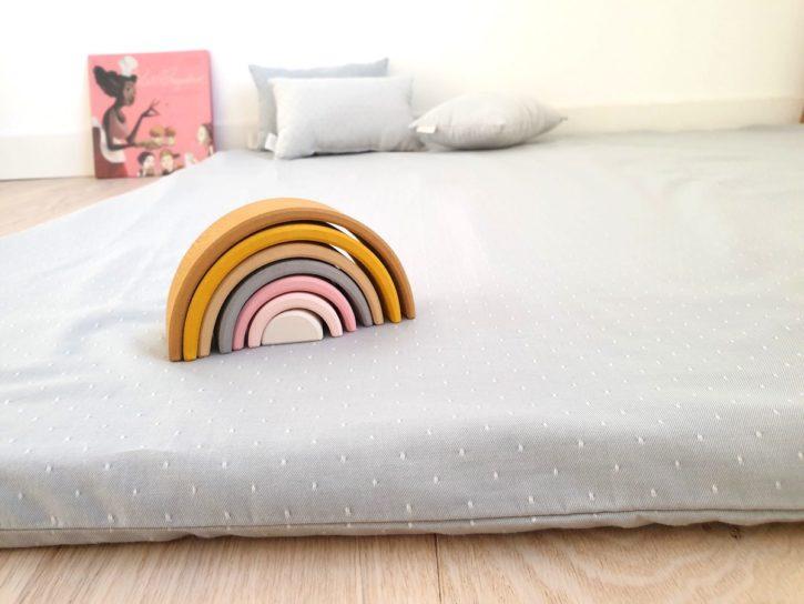 Tapis de sol bébé inspiration Montessori Pikler