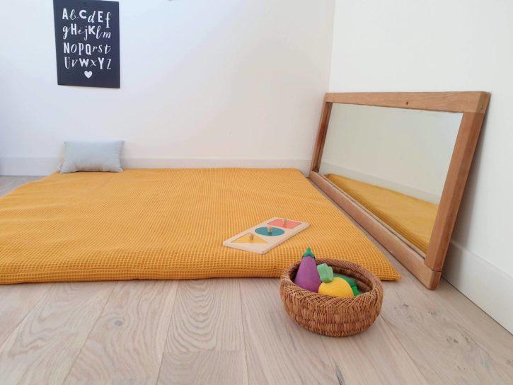 Matelas de sol bébé pour nido Montessori