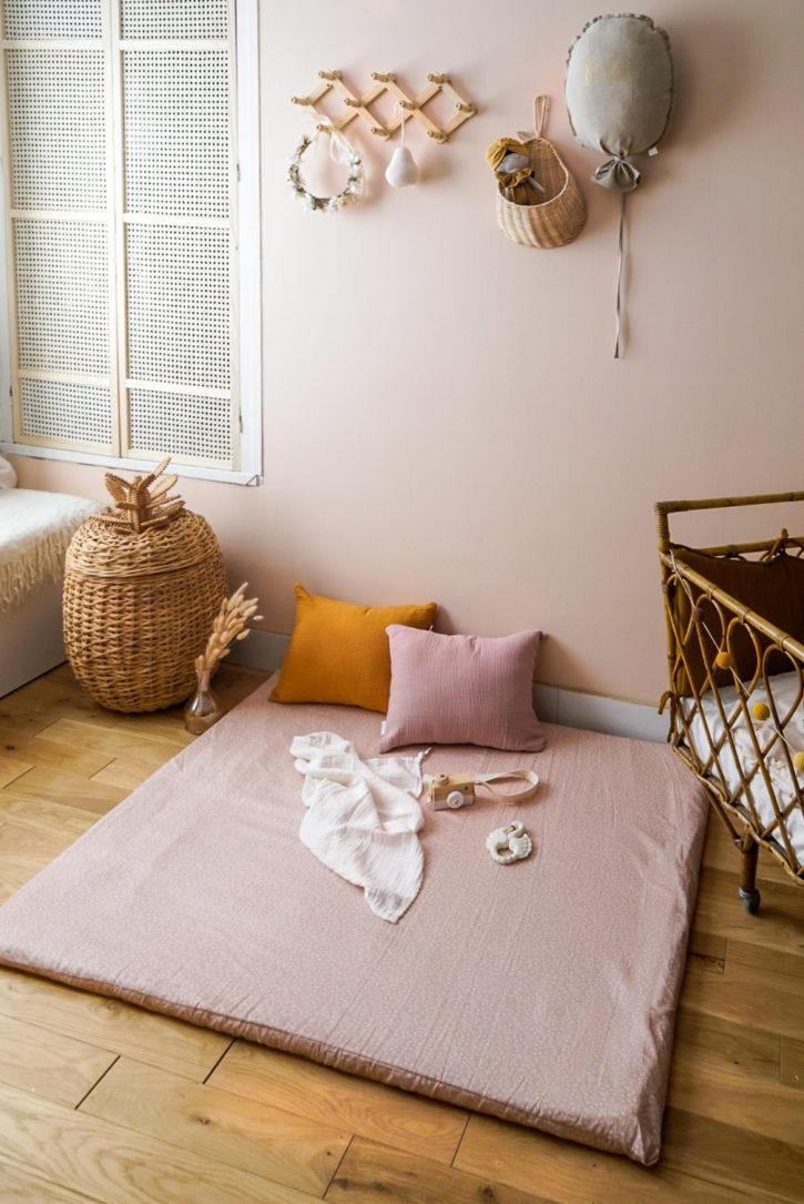 Tapis de sol coton biologique bébé